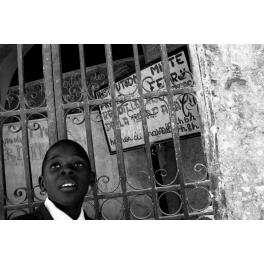 Young Haitian boy