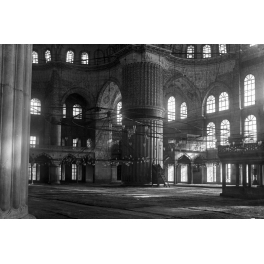 In Sultan Ahmed Mosque