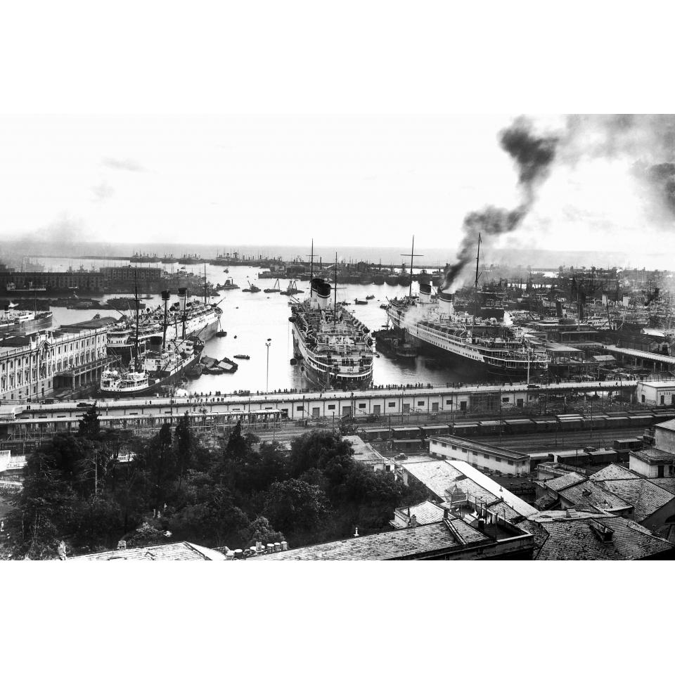 Genoa Port 1930