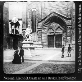 Verona, Sant'Anastasia XIX sec.