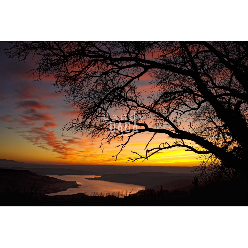 Titignano's sunset